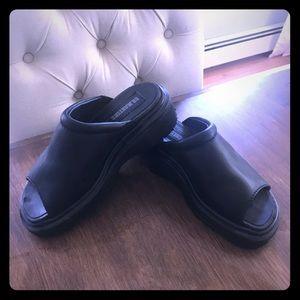 Dr. Martens leather sandal size U.K. 3